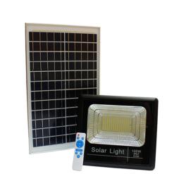 Đèn LED năng lượng mặt trời 100W treo tường