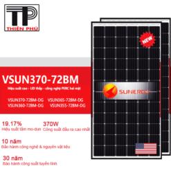 Tấm Pin năng lượng mặt trời VSun 370W